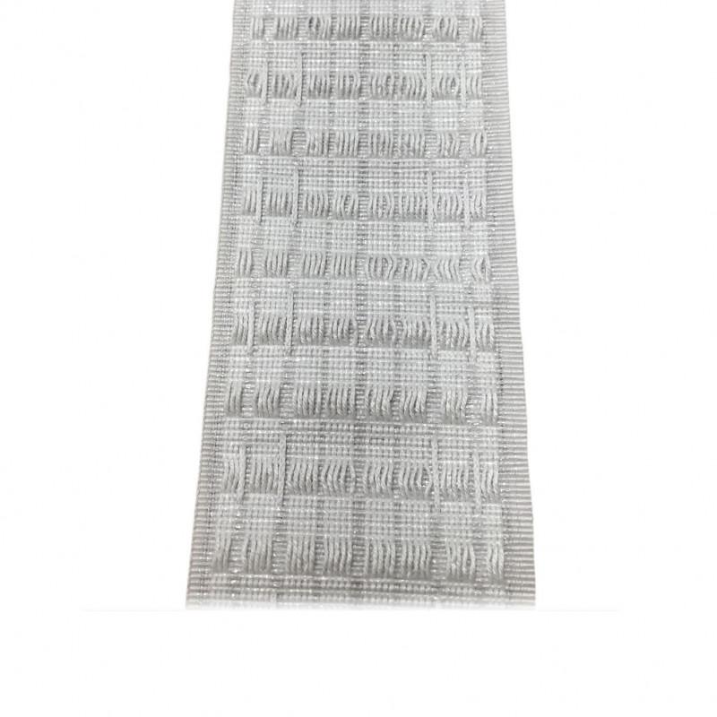 Ruflette Multipoche 2 ampleurs - 70 mm - le mètre - Fournitures tapissier
