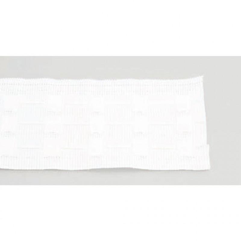 Ruflette Non feu 76 Blanc- Le mètre - Habillage de la fenêtre