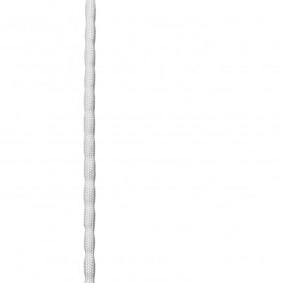 Chapelet de plomb gainé blanc - 25gr - Le mètre