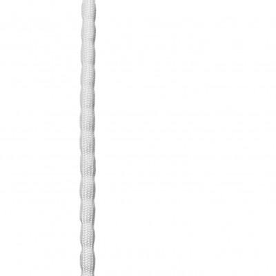 Chapelet de plomb gainé blanc - 35gr - Le mètre