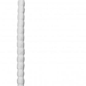 Chapelet de plomb gainé blanc - 100gr - Le mètre - Habillage de la fenêtre