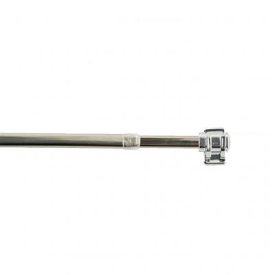 Tringle extensible BUSINESS Chrome brillant 40 à 65 cm