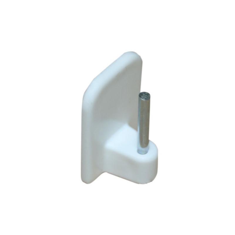 Support adhésif pour tringle coloris blanc - Habillage de la fenêtre