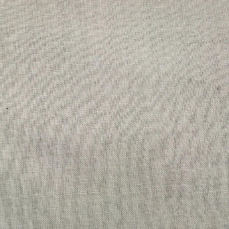 Satinette Polyester / Coton - Blanc Laize 280cm - Habillage de la fenêtre