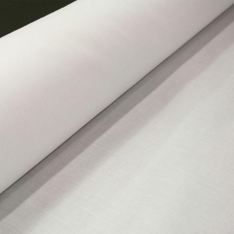 Rouleau Satinette Polyester / Coton - Blanc - 280cm - Habillage de la fenêtre