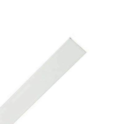 Barre de charge en aluminium laqué blanc 30x4 mm pour store bateau