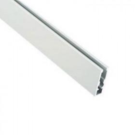 Barre de charge en aluminium anodisé apparente pour store bateau - Habillage de la fenêtre