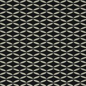 Tissu Nobilis Collection Ellipse - Blanc 144 cm - Tissus ameublement