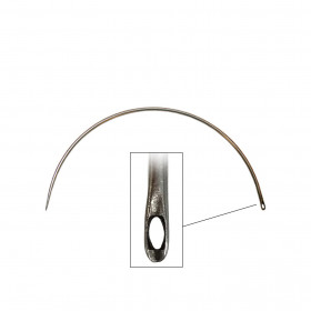 Carrelet courbe 150 mm - Chat latéral - Outils tapissier