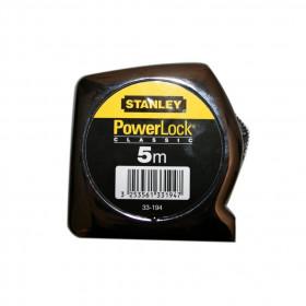 Mètre ruban Stanley PowerLock 5m - Outils tapissier