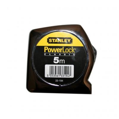 Mètre ruban Stanley PowerLock 5m