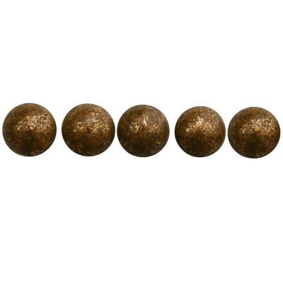 100 Clous tapissiers Vieux Bronze Clair 11,5 mm