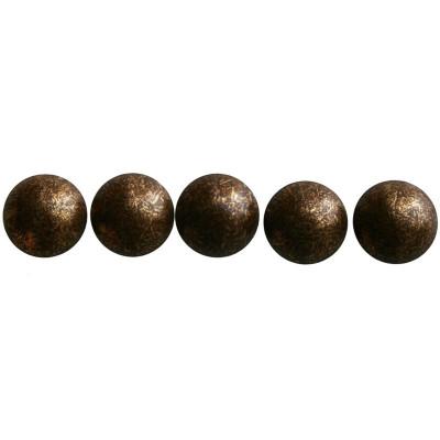 200 Clous tapissier Vieux Bronze Perle Fer 11,5 mm