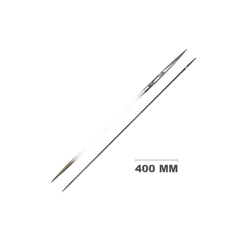 Carrelet droit 2 pointes 400 mm - Outils tapissier