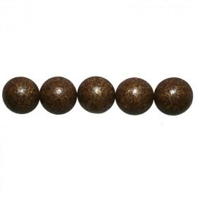 100 Clous tapissiers Vieilli Bronze moyen 14 mm - Clous tapissier