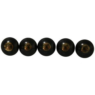 50 Clous tapissier Bronze Renaissance Perle Fer 18 mm