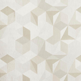 Tissu Nobilis Collection Tiles - Beige 145 cm - Tissus ameublement