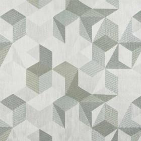 Tissu Nobilis Collection Tiles - Turquoise 145 cm - Tissus ameublement