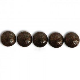 50 Clous tapissiers Prestige Bronze Noir 16 mm - Clous tapissier
