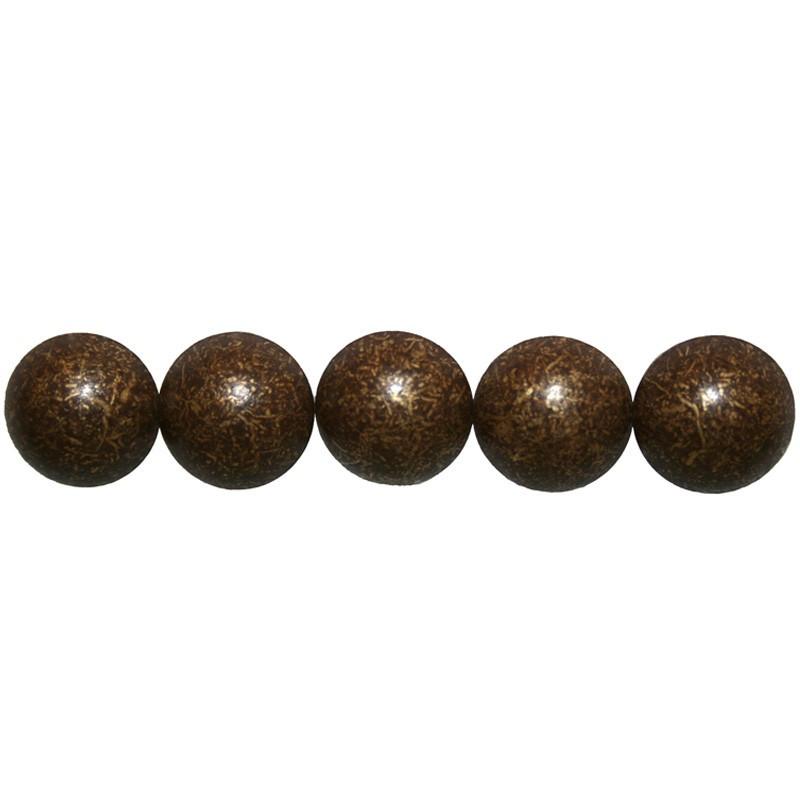50 Clous tapissiers Vieilli Bronze moyen 16 mm - Clous tapissier
