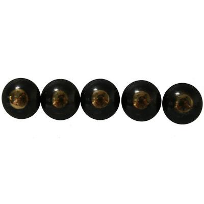 50 Clous tapissier Bronze Renaissance Perle Fer 16 mm