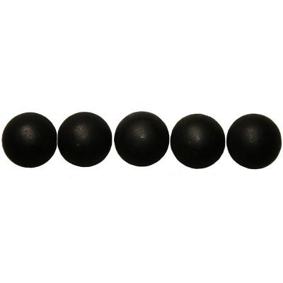 50 Clous tapissiers Noir Mat 16 mm