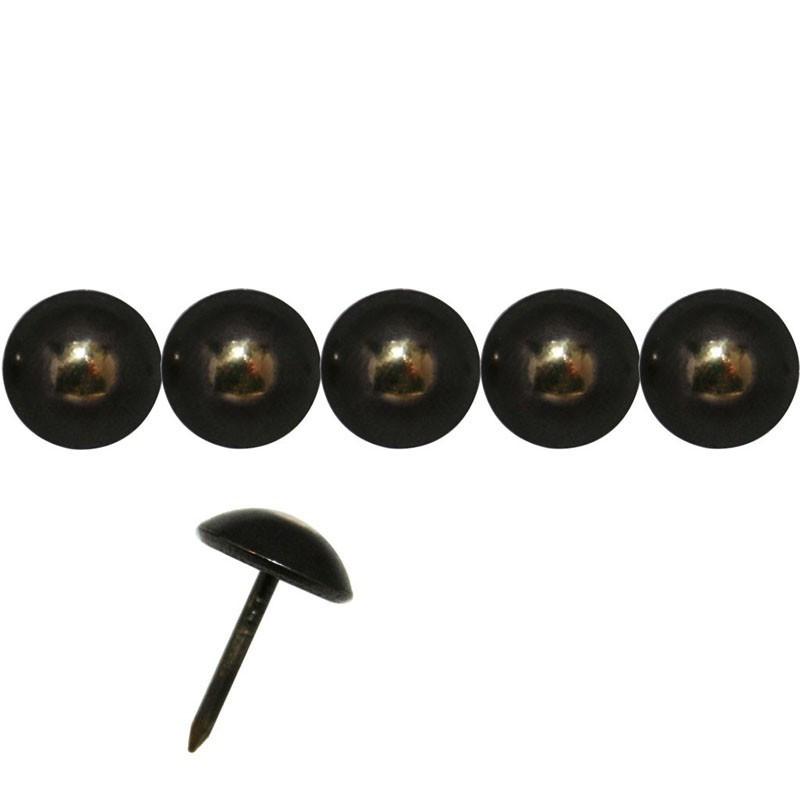 """200 Clous tapissiers \\""""Au Soleil\\"""" Bronze Renaissance 11 mm - Clous tapissier"""
