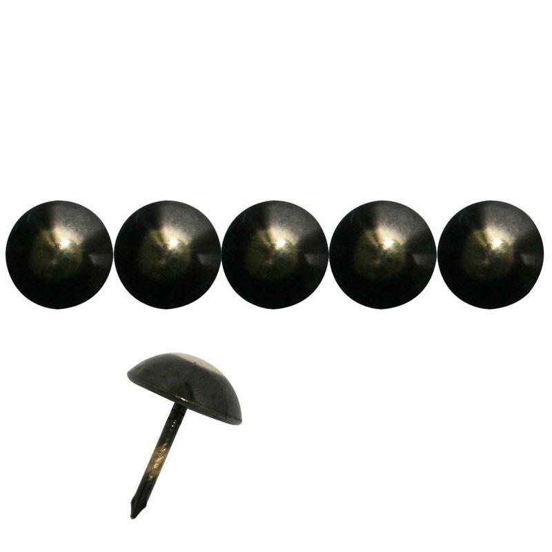 """50 Clous tapissiers \\""""Ivry\\"""" Bronze Renaissance 18 mm - Perle Fer - Clous tapissier"""