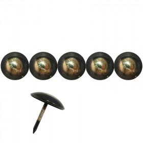 50 Clous tapissiers Bronze Renaissance 18 mm - Clous tapissier