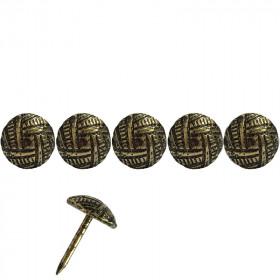 100 Clous tapissiers martelé Oxford 11 mm - Clous tapissier