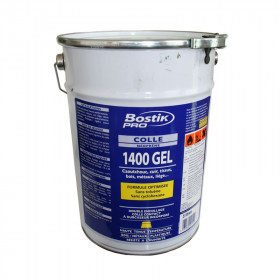 Colle néoprène gel polyvalente BOSTIK 1400 5 litres - Fournitures tapissier
