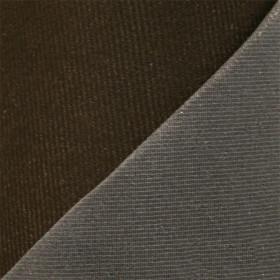 Maille grattée (toile jersey) marron - grise en 150 cm - le mètre - Fournitures tapissier