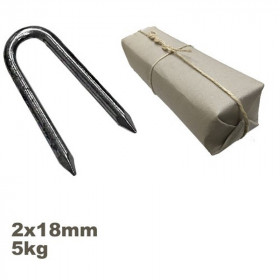 Conduit ou crampillon acier 2.00 x 18 mm par 5kg - Fournitures tapissier
