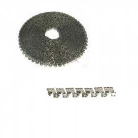 Bande de fixation médium en métal flexible - Fournitures tapissier