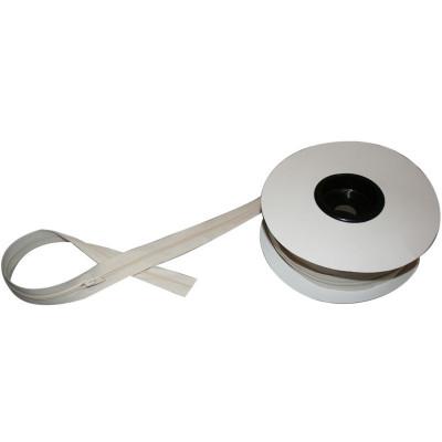 Fermeture à glissière écru 6 mm, les 25 mètres - Mercerie
