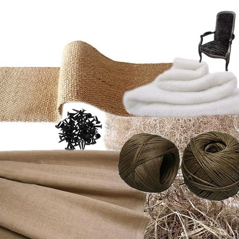 Kit Voltaire traditionnel sans ressorts - Fournitures tapissier