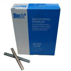 Agrafes type 71 6mm pour agrafeuse pneumatique BEA - Fournitures tapissier
