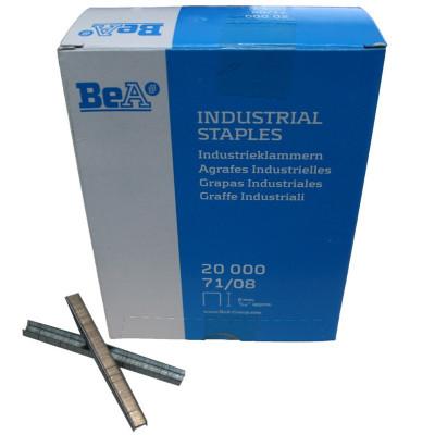 Agrafes type 71 8 mm pour agrafeuse pneumatique BEA