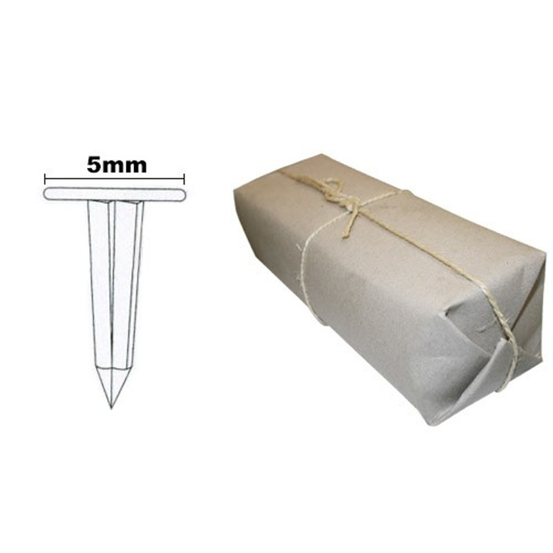 Semences évidées de 09 mm 6/4 les 5kg - Fournitures tapissier