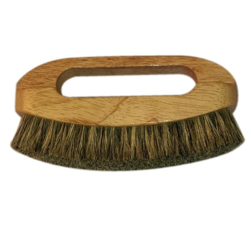 Brosse soie main petit modèle - Fournitures tapissier