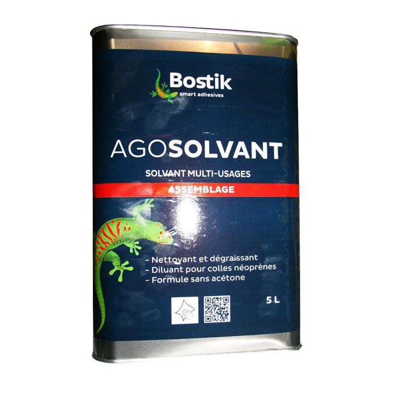 Agosolvant Assemblage - Bostik 5 litres - Fournitures tapissier