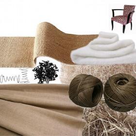 Kit Fauteuil Bridge traditionnel avec ressorts - Fournitures tapissier