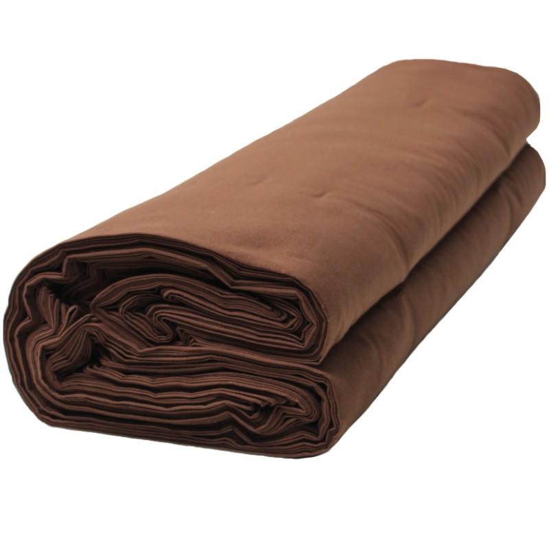 Toile jaconas marron les 50 mètres - Fournitures tapissier