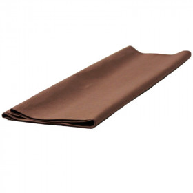 Toile jaconas marron 150 cm de largeur dossé plié, le mètre - Fournitures tapissier