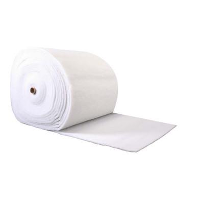 Ouate polyester 100 g/m2. Largeur 80cm, le rouleau de 30m