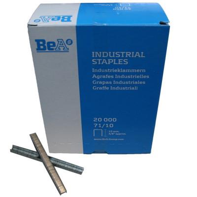 Agrafes type 71 10mm pour agrafeuse pneumatique BEA