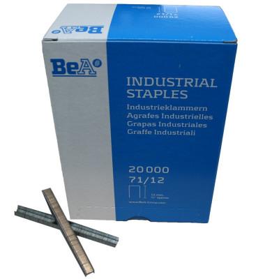 Agrafes type 71 12mm pour agrafeuse pneumatique BEA