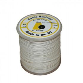Fil de lin 432 Blanc 18/3, bobine de 50g - Mercerie