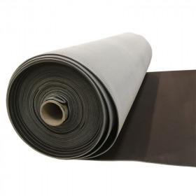 Maille grattée (toile jersey) marron - grise en 150 cm - Le rouleau de 50m - Fournitures tapissier