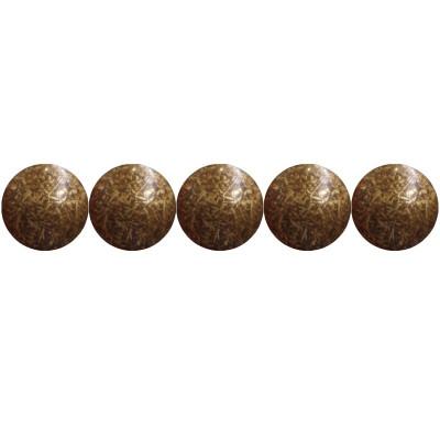 """1000 Clous tapissiers \\""""Ivry\\"""" Vieilli Bronze Doré 10.5 mm Perle Fer - Clous tapissier"""
